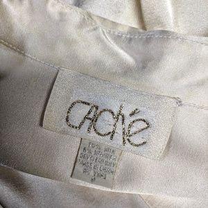 Cache Tops - Cache Stretch Silk Blouse